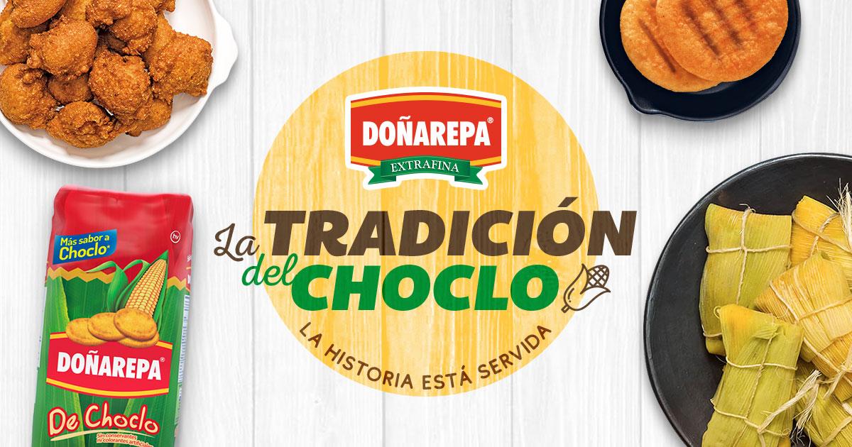 La Tradición del Choclo Doñarepa
